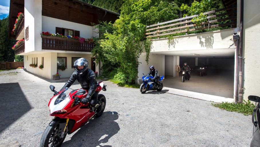 Das Motorradhotel im Sarntal - Gasthof Rabenstein - Dolomiten - Südtirol - Alpen