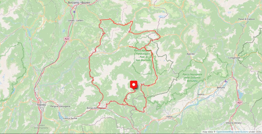Das Motorradhotel in den Dolomiten - Hotel Castel Latemar - Südtirol - Alpen