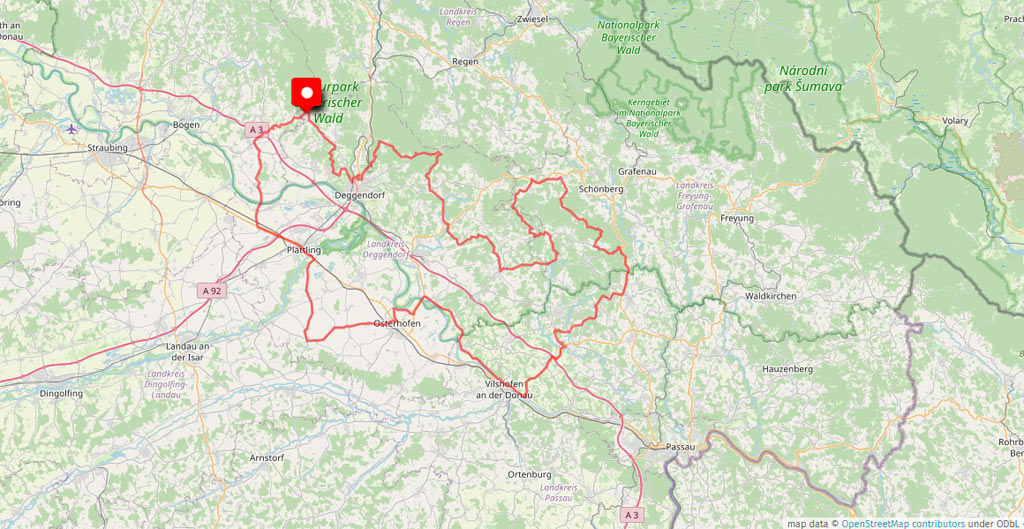 Das Motorradhotel im Bayerischen Wald - Bernrieder Hof - Böhmen