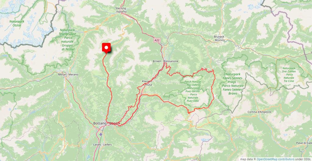 Das Motorradhotel im Sarntal - Gasthof Rabenstein - Südtirol - Dolomiten