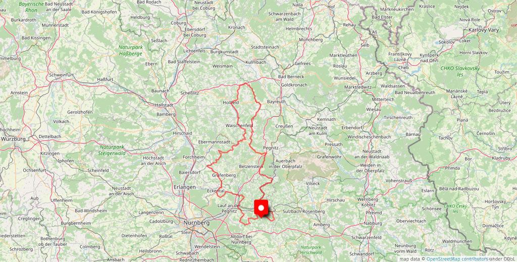 Motorradhotel Hersbrucker Schweiz - Kainsbacher Mühle