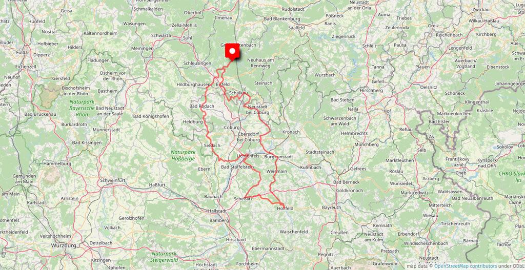 Das Motorradhotel im Thüringer Wald - Hotel Rennsteig - Fänkische Schweiz - Thüringer Schiefergebirge - Rhön