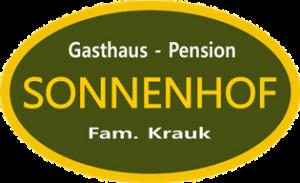 Logo - Motorradhotel Böhmerwald - Gasthaus Pension Sonnenhof - Familie Krauk - Dreiländereck